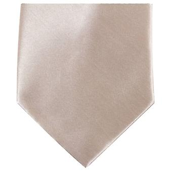 Knightsbridge Neckwear Regular Polyester Tie - Beige