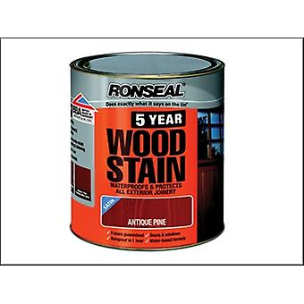 5 YEAR WOODSTAIN ANTIQUE PINE 250 ML