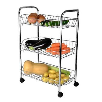 3 cesta Chrome vegetal Rack
