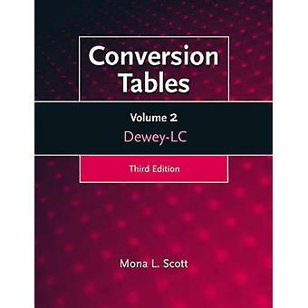 Conversion Tables DeweyLC Volume 2 by Scott & Mona L.