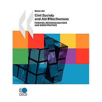 Melhor ajuda da Sociedade Civil e ajudas eficácia resultados recomendações e boas práticas pela publicação da OCDE