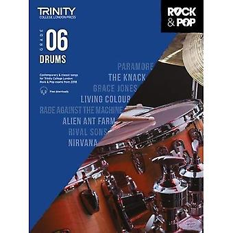 Trinity Rock & Pop 2018 Drums Grade 6 - Trinity Rock & Pop 2018 (Sheet music)