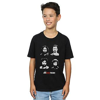 La théorie du Big Bang garçons expédition barbes T-Shirt