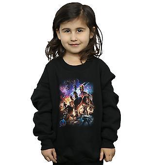 Marvel Girls Avengers Endgame Character Montage Sweatshirt