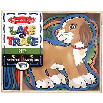 Lace And Trace Panels-Pets
