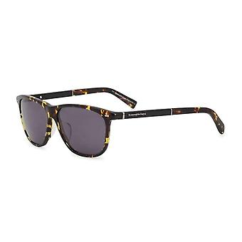 Ermenegildo Zegna Men Brown Sunglasses -- EZ00427504