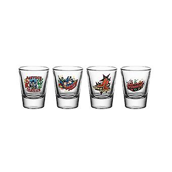 DC Comics Justice League Shot Glasses