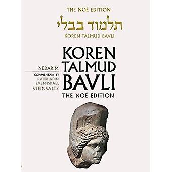 Koren Talmud Bavli - Nedarim - English - v. 18 (Noy ed) by Adin Steinsa