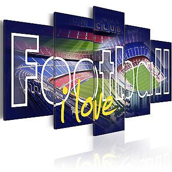 Wandbild - Football My Love