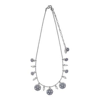 Pilgrim Ladies´ necklace :flower mix blue/silver (494221)