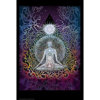 Poster - Studio B - 24X36 Meditation Wall Art P3035