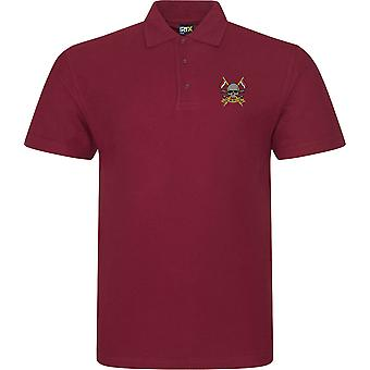 Royal Lancers - Licensed British Army Embroidered RTX Polo