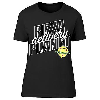 Pizza Planet Delivery Tee Women's -Image by Shutterstock