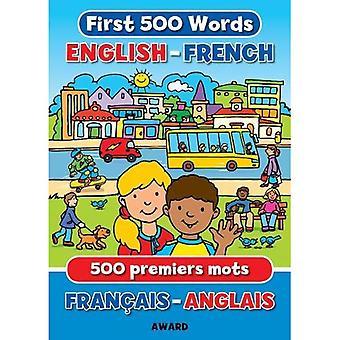 Eerste 500 woorden Engels - Frans (eerste woorden)