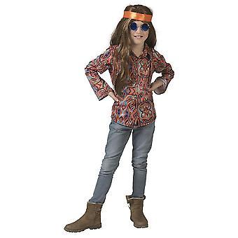 70s Hippie Shirt Boy Costume Flower Power Dancer Flower Child Boys Costume