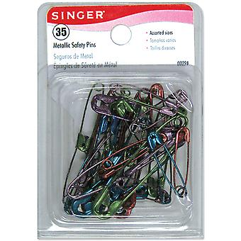Safety Pins Assorted 35 Pkg 294