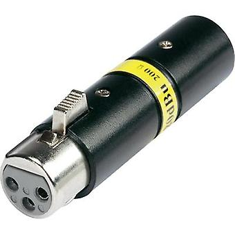 Adaptador XLR XLR plug - socket XLR Hicon HI-X3 X 3-20-200 1 PC