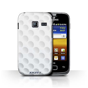 STUFF4 Case/Cover for Samsung Galaxy Y Duos/S6102/Golf/Sports Balls