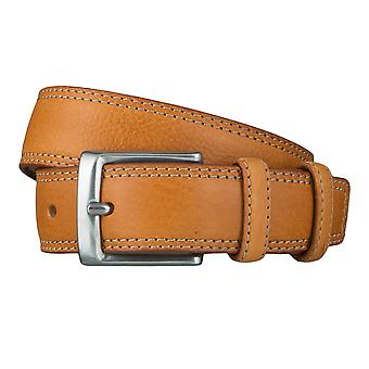 Lee belts men's belts leather belt Cognac 4637