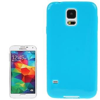 Protective case TPU case for mobile Samsung Galaxy S5 / S5 neo blue