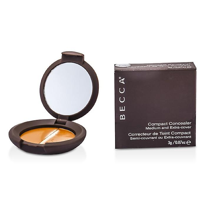 Becca Compact Concealer Medium & Extra Cover - # Fudge 3G-/ 0.07 oz