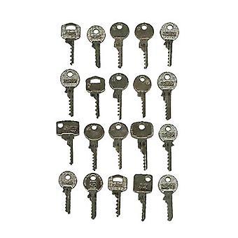 Slagschulussel Bump nøgle sæt hollandsk 20 nøgler