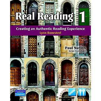 Real Reading 1: Creating an Authentic Reading Experience (mp3 Files Included) (Paperback) by Bonesteel Lynn