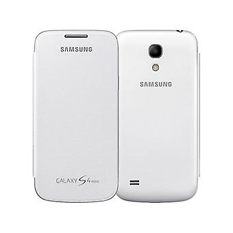 Samsung Flip Cover for Samsung Galaxy S4 Mini (White)