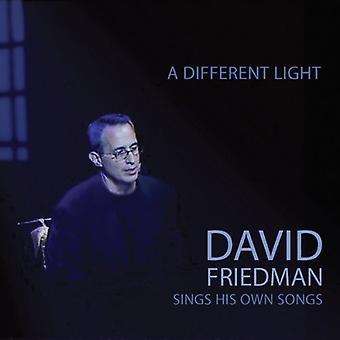 David Friedman - forskellige lys: David Friedman synger sin egen sang [CD] USA import