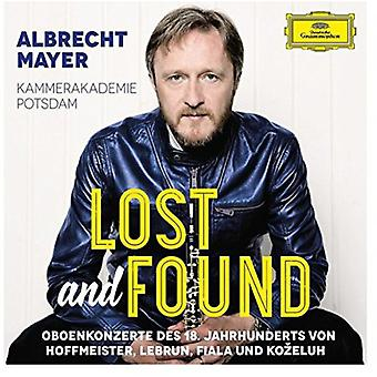 Albrecht Mayer - Lost & Found [CD] USA import