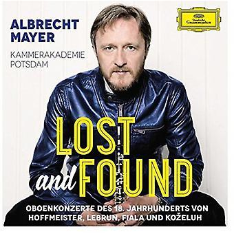 Albrecht Mayer - importation USA perdu et trouvé [CD]