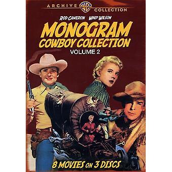 Monogram Cowboy Collection: Volume 2 [DVD] USA import