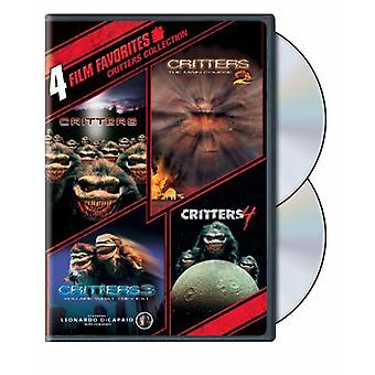 Critters 1-4 [DVD] USA import