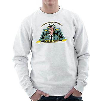 Johnny Cab Total Recall mænds Sweatshirt
