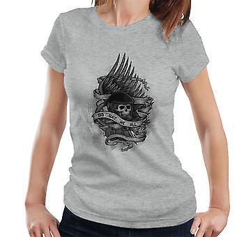 Admiral Adama Battlestar Galactica så sier vi alle kvinners t-skjorte