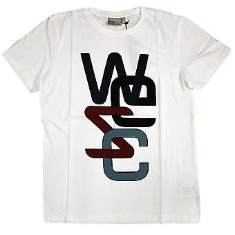WeSC Overlay No 2 T-Shirt White