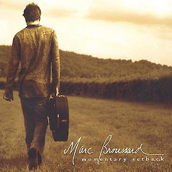 Marc Broussard - Momentary Setback [CD] USA import