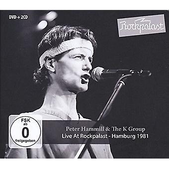 Peter Hammill y el grupo K - vivir en importación de Estados Unidos Rockpalast [CD]