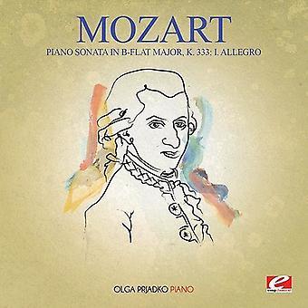 Mozart - Klaviersonate in B-Dur-Maj K 333 [CD] USA import
