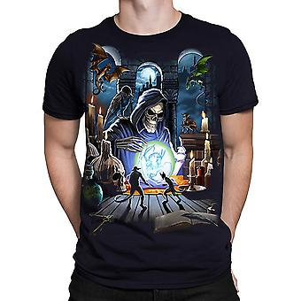 Liquid Blue - REAPER SPELL - Short Sleeve T-Shirt - Black