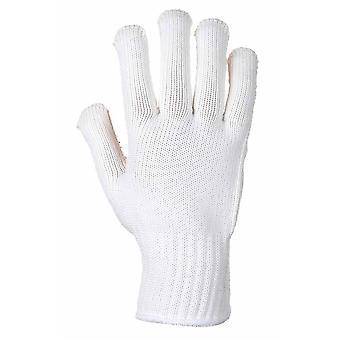 sUw - Heavy Duty Polka Dot Gripper Heat Resist Gloves (12 Pair Pack)