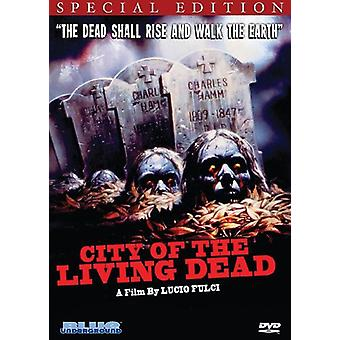 Byen af levende døde [DVD] USA importerer