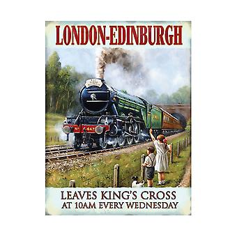 Original Metal Sign Co Large LNER Portrait 30 x 40cm