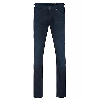 Wrangler Lars tone men's jeans Blau slim tapered stretch pants