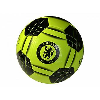 Chelsea FC Official Crest Fluro Football