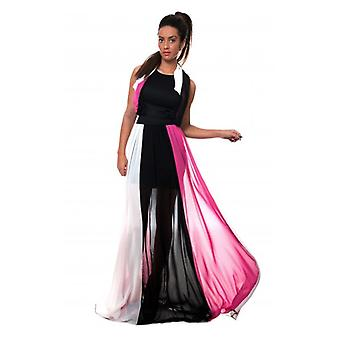 The Fashion Bible Luxe Parisia Chiffon Maxi Dress