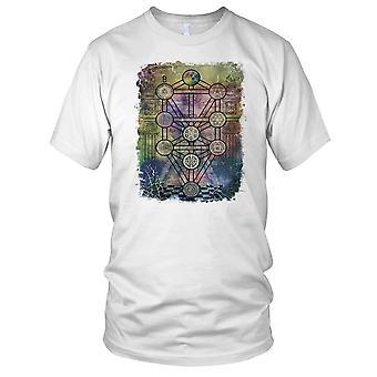 Tree Of Life - Yoda Buddha Meditation Mens T Shirt