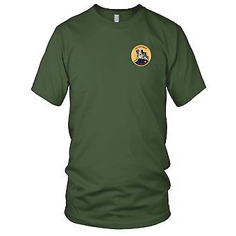 US Marine BB-64 USS Wisconsin gestickt Patch - Korea Kinder T Shirt