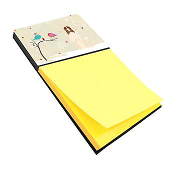Christmas Presents between Friends Borzoi Sticky Note Holder