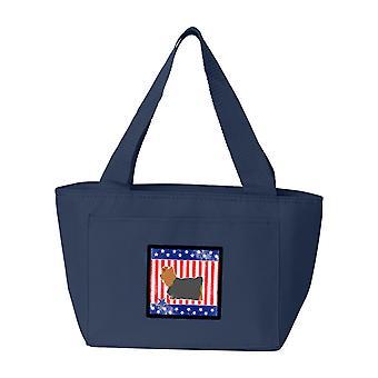 USA patriotiske Yorkshire Skrekkelig Yorkie Lunch Bag
